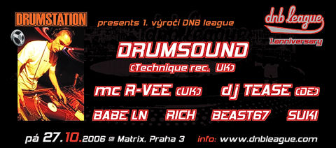 DNB league - 1. anniversary party in Prague