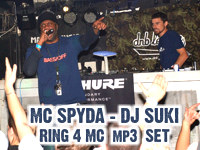 MC SPYDA - DJ SUKI live set RING 4 MC - Matrix Prague